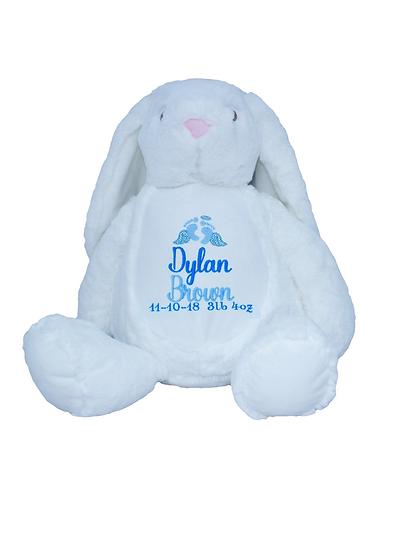 Bereavement Bunny / Personalised Keepsake Memory Bear Soft Toy