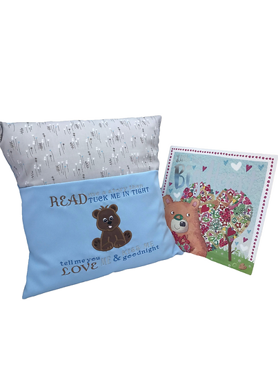 Bear Themed Book Cushion