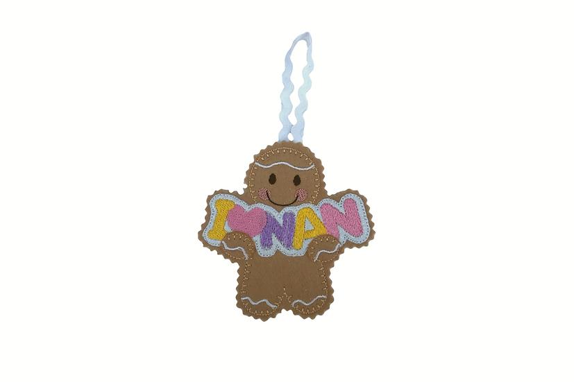 Nan Gingerbread Decoration