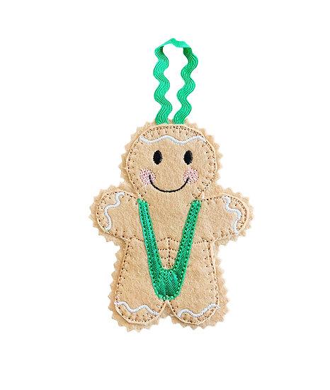 Mankini Gingerbread Decoration