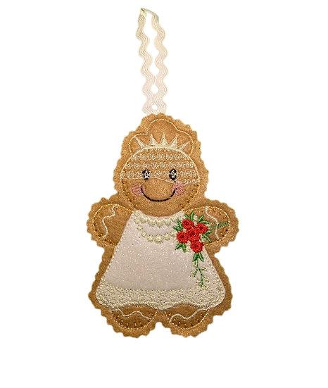 Gingerbread Bride Decoration