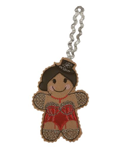 Burlesque Gingerbread Decoration