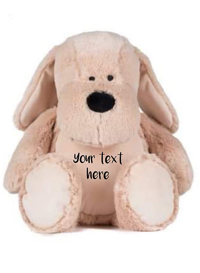 Personalised Dog Soft Toy