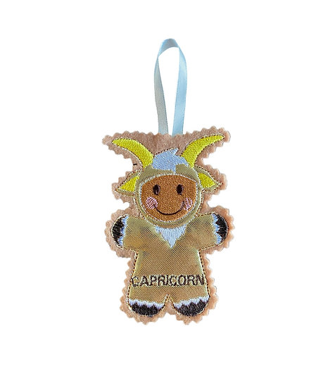 Capricorn Starsign Gingerbread Decoration