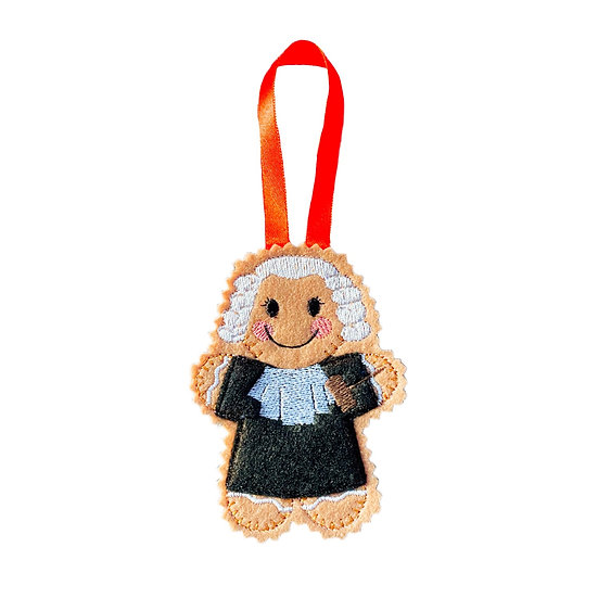 Judge Gingerbread Decoration