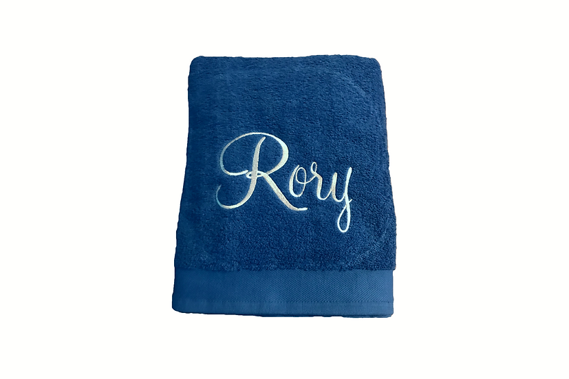 Personalised Bath Towel - any name added