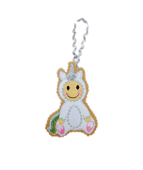 Unicorn Gingerbread Decoration
