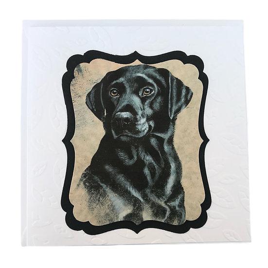 Black Labrador Gift Card