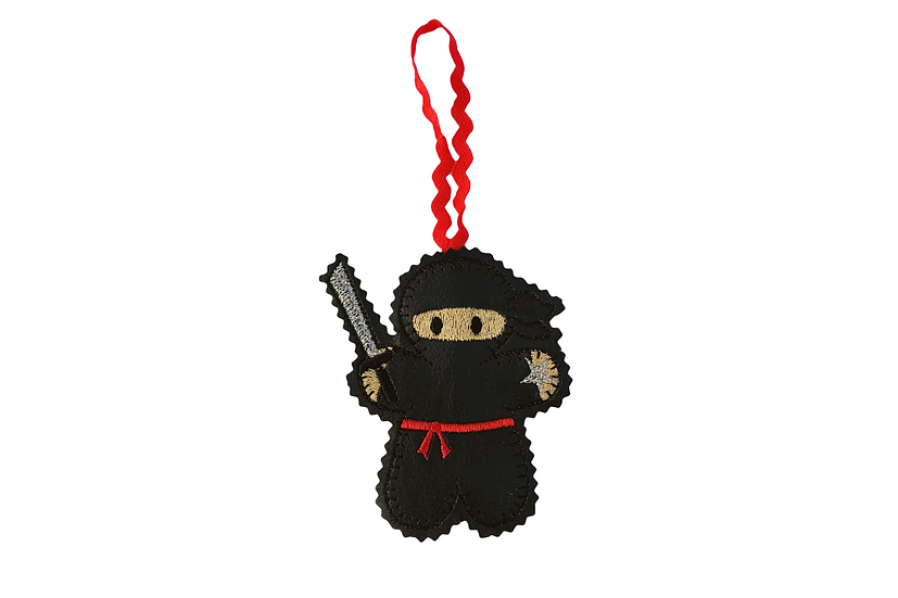 Ninja Gingerbread Decoration