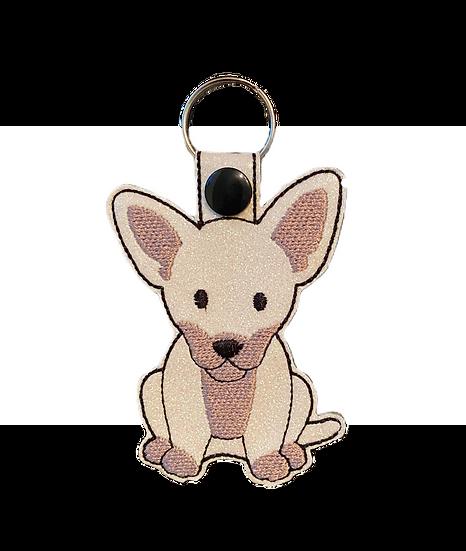 Chihuahua Dog Key Ring