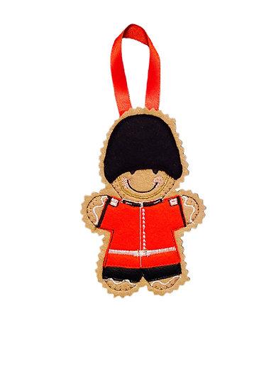 Grenadier Guard Gingerbread Decoration