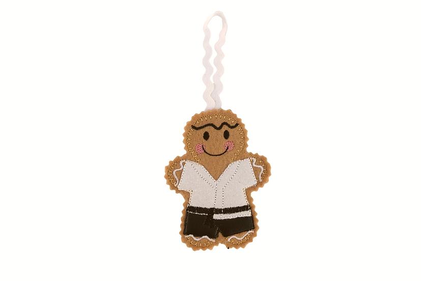 Karate / Kung fu Gingerbread Decoration