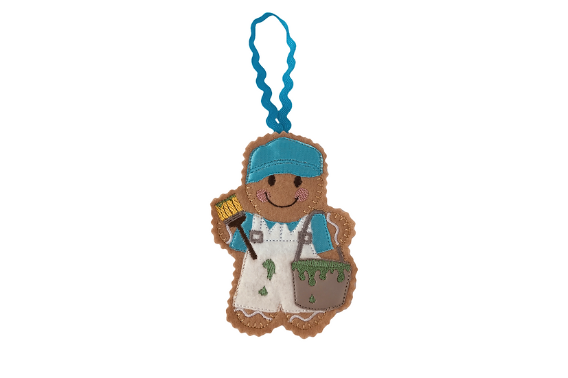 Painter & Decorator Gingerbread Decoration