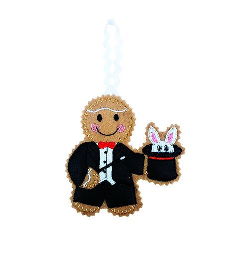 Magician Gingerbread Decoration