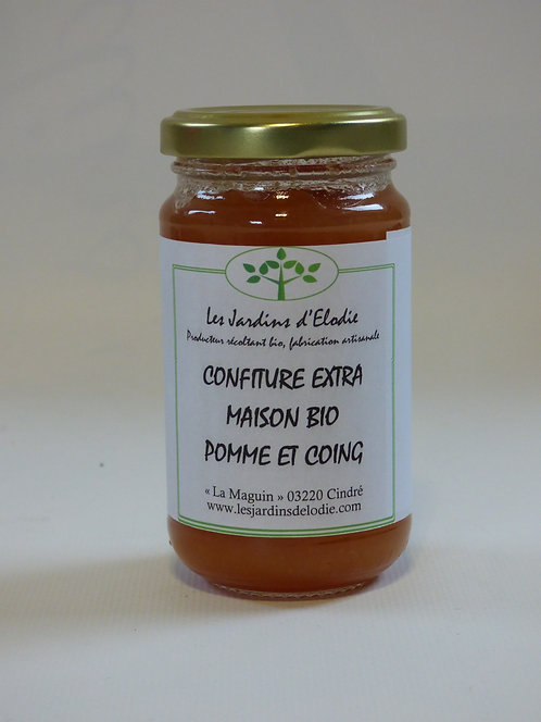 """Confiture extra Bio """"Pomme coing"""""""