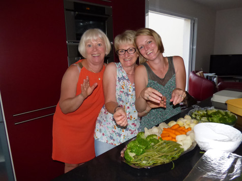 Le plaisir de cuisiner en famille