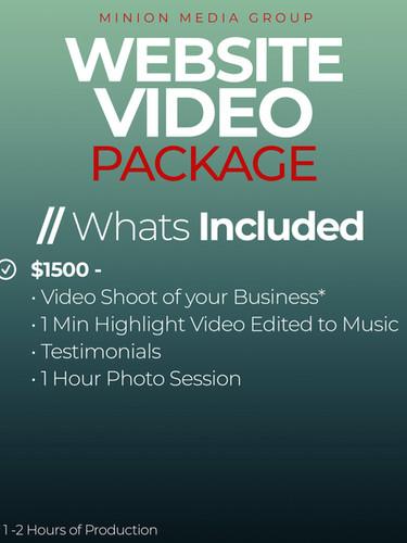 Website Video Package