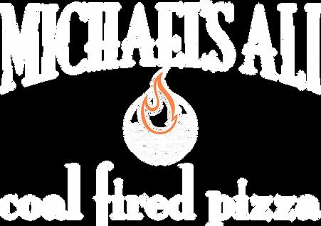 Michaels Ali Coal Fire Logo ALPHA_WHITE.