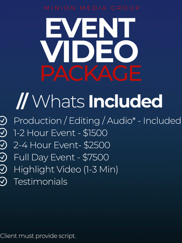 Event Video Package