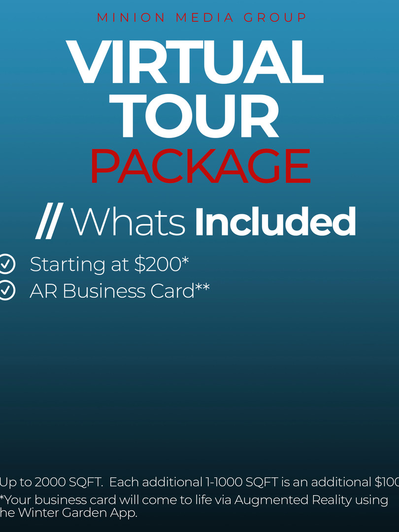 Virtual Tour Package