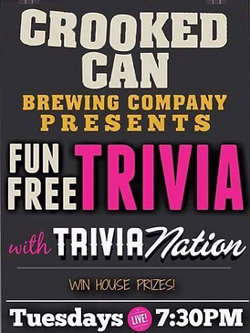 Crooked Can Trivia We Are Winter Garden