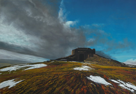 Moel Famau (original and prints available)