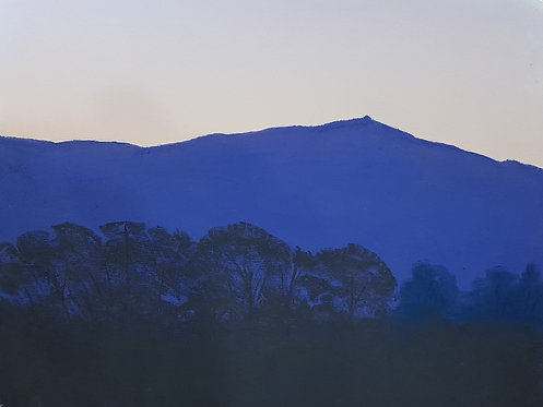 Moel Famau Dusk (original sold, prints available)