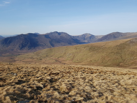 A walk - Pen Llithrig y Wrach, Moel Eilio and Cwm Eigiau