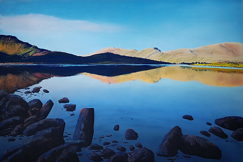 Moel Eilio over Llyn y Gader (original available)