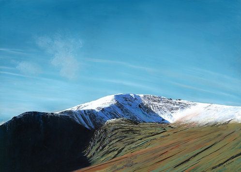 Carnedd Llywelyn from the East (original sold, prints available)