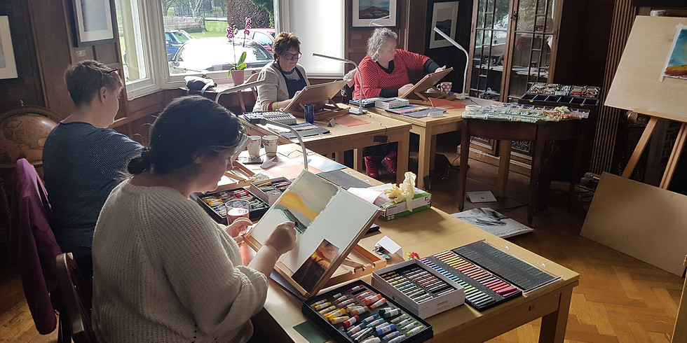 One-day Pastel Workshop for Beginners