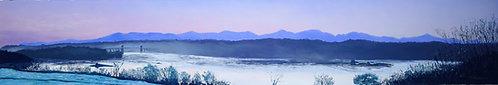 Snowdonia over the Menai Strait (original available)