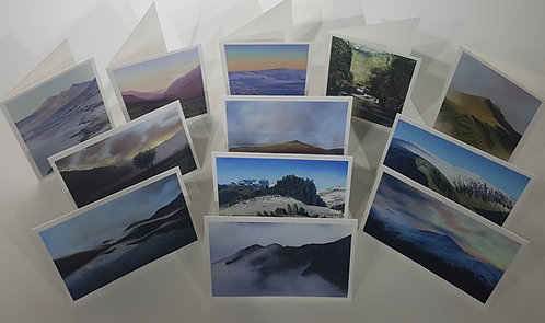 Selection of 12 cards