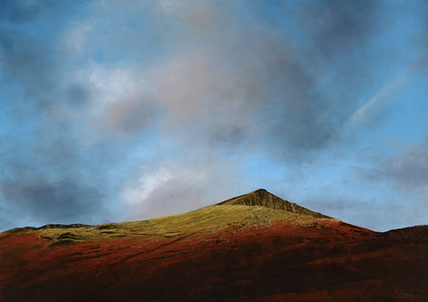 Dawn Light, Moel Hebog (original sold, prints available)