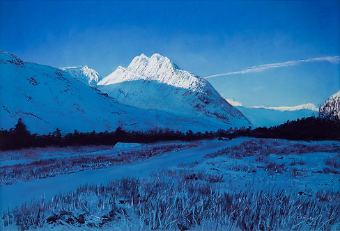 Winter's Morning Tryfan (original available)