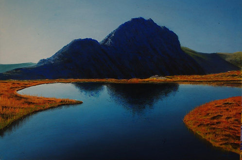 Tryfan in Blue (original available)