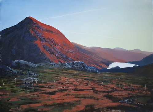 Pen yr Ole Wen at Dawn (original sold, prints available)