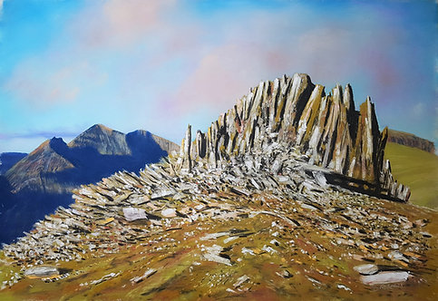 Castell y Gwynt at Dawn (PRINTS ONLY: ORIGINAL SOLD)