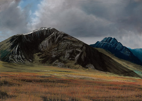 Y Foel Goch and Tryfan  (original sold, prints available)