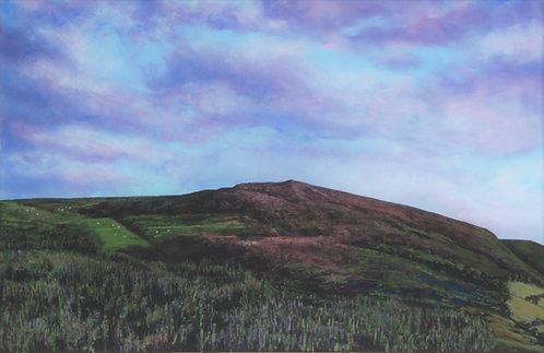 Moel y parc painting clwydians