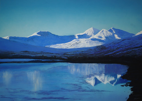 Snowdon Reflections (sold)