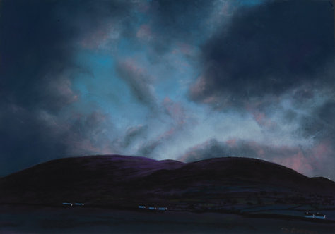 Clwydian Hills at Dawn (Set of 5 - original available)