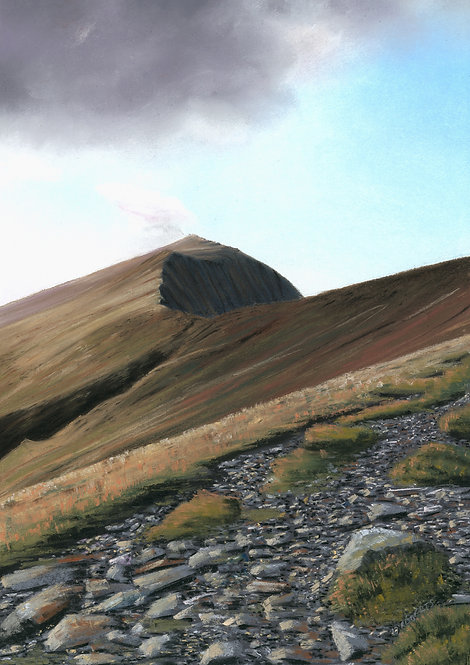 Long Climb Ahead, Elidir Fawr (printsl available)