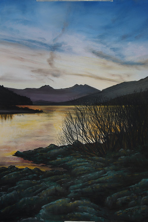 Snowdon from Capel Curig (SOLD)