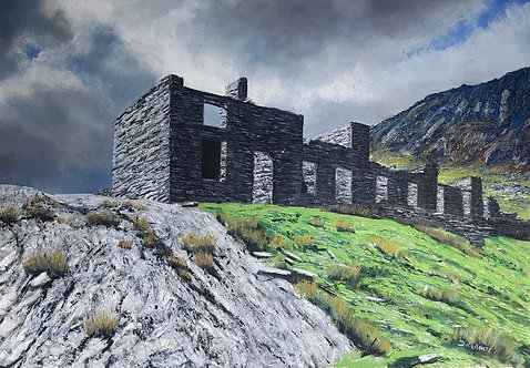 Barracks, Cwmorthin Quarry (sold)