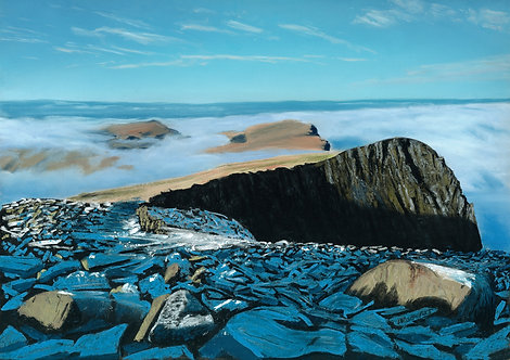 Above the Clouds, Cadair Idris I (original sold, prints available)