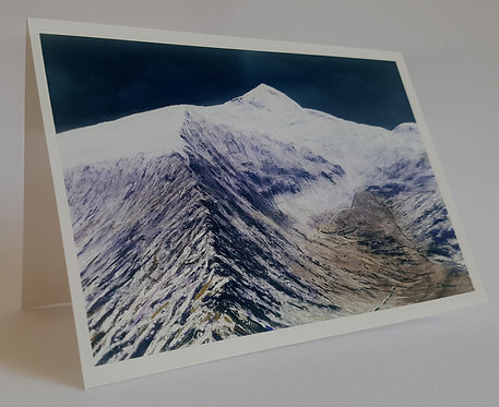 Snowdon in White, Card