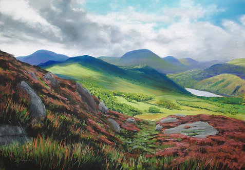 Nant Gwynant in Summer (sold)