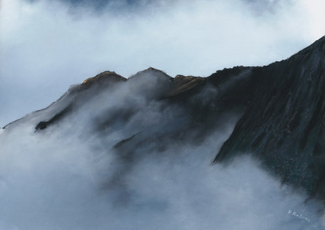 Above the Clouds, Cadair Idris II (original sold, prints available)