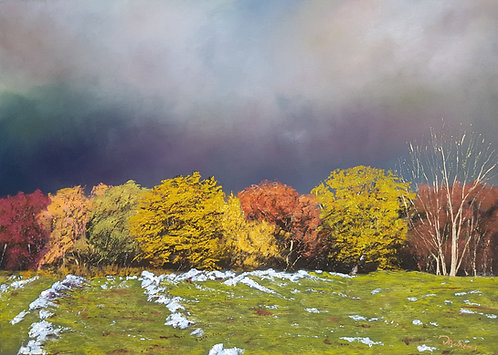 Autumn Storm at Loggerheads II (original available)